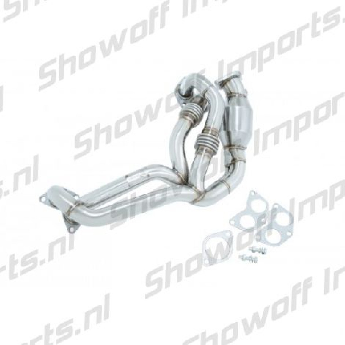 Subaru BRZ Manzo Stainless Steel Header + Cat