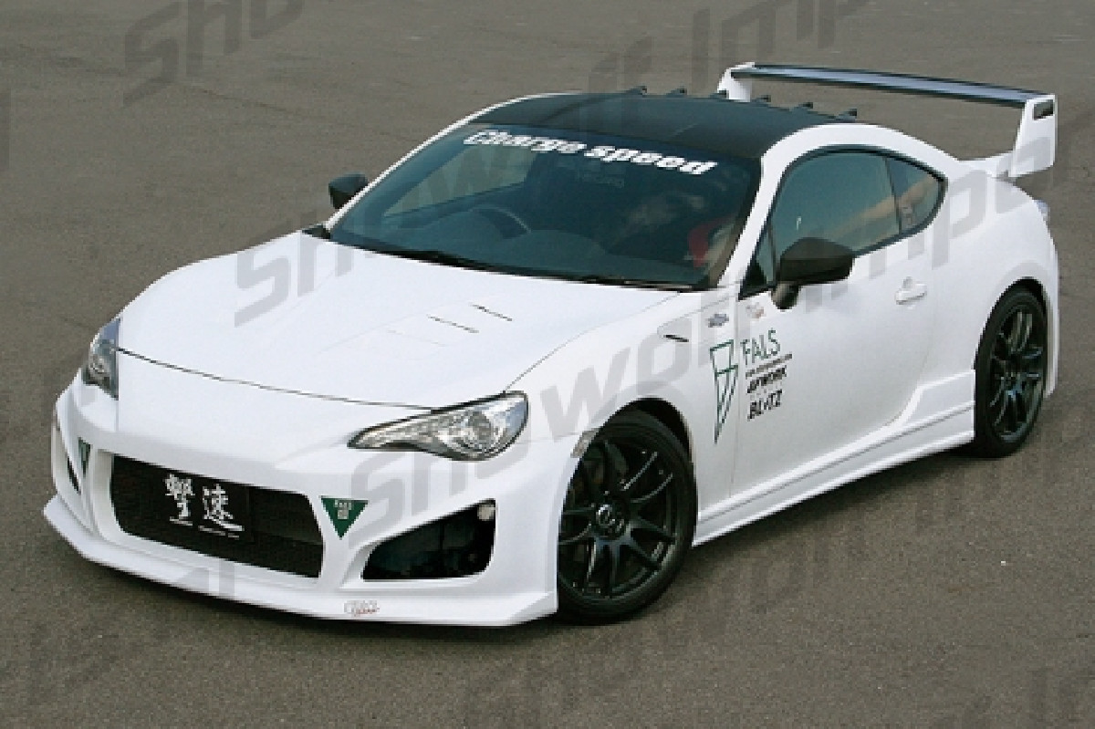 Toyota GT86 Front Bumper incl. LED Flasher (FRP)