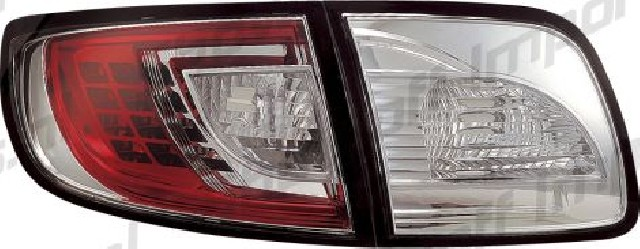 Mazda 3 4D 03-09 LED Taillights Set Clear