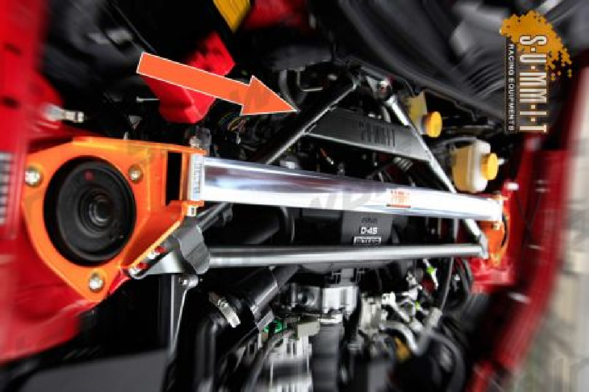 Subaru BRZ Summit 3 point Front Upper Strutbar