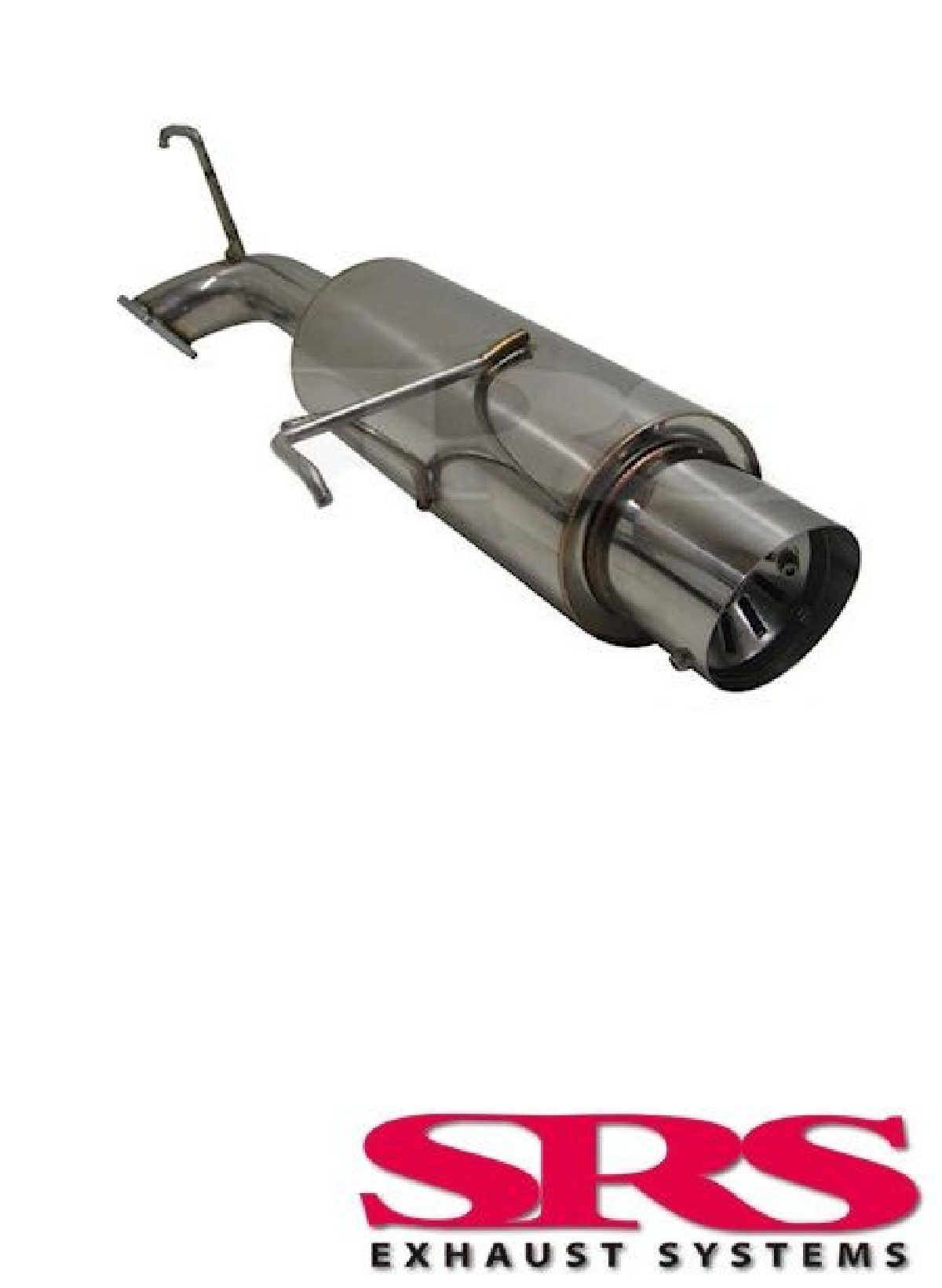 Honda Accord 00-03 4D SRS Stainless Steel G55 Single Exhaust