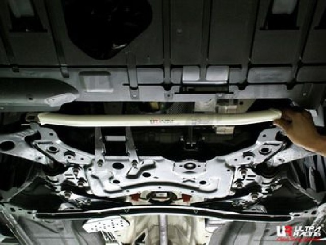 Mazda 3 MPS 09+ UltraRacing 2-Point Front Lower Tiebar