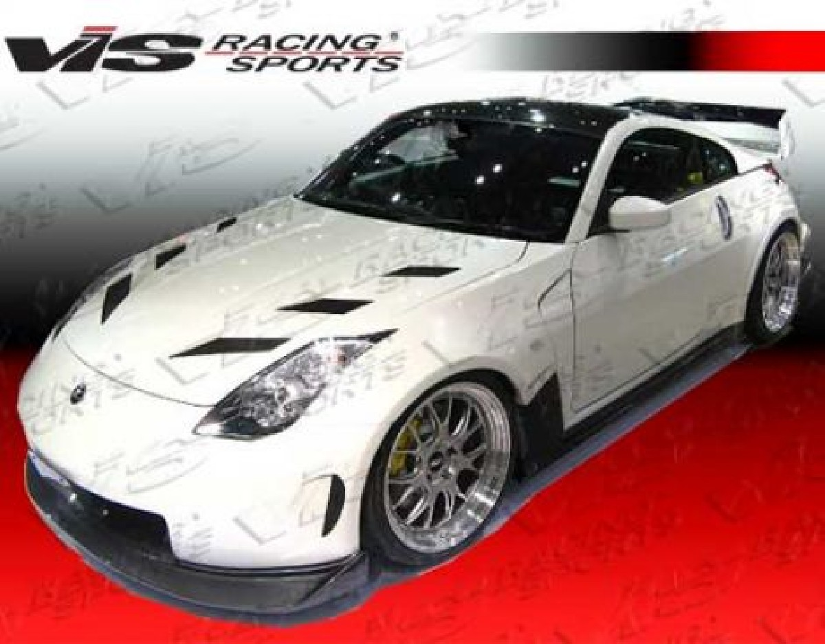 Nissan 350Z 03-08 2DR AMS Full Vis Racing 8-piece widebodykit