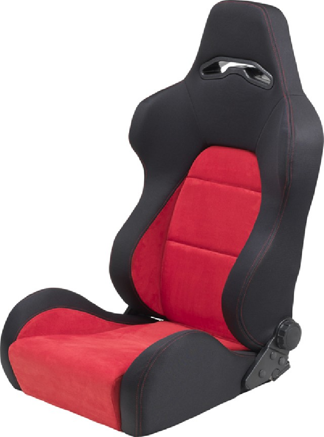 SPL-Tuning Adjustable Racing Seat Model E Red/Black