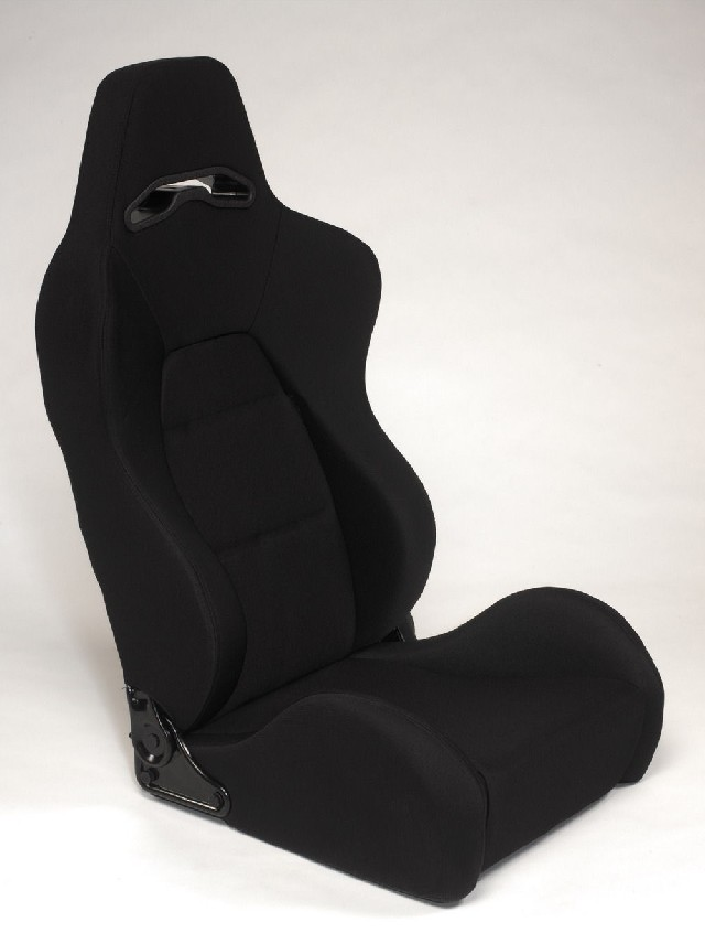 SPL-Tuning Adjustable Racing Seat Model E Black