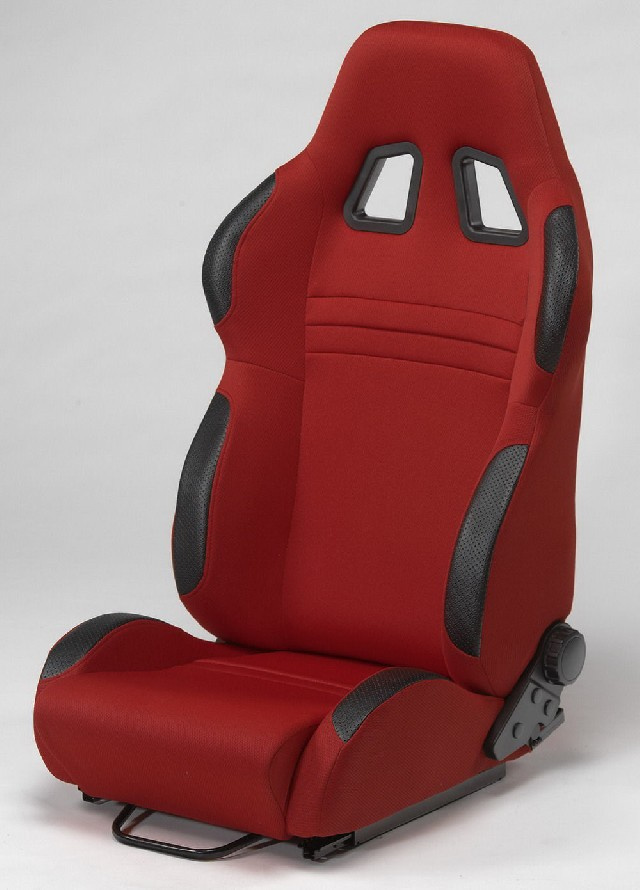 SPL-Tuning Adjustable Racing Seat Model R Red/Black