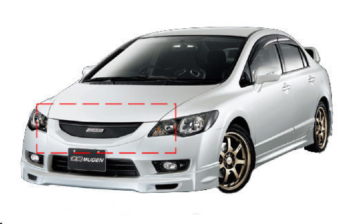 Honda Civic 4D/Hybrid 09+  ABS Front Grill