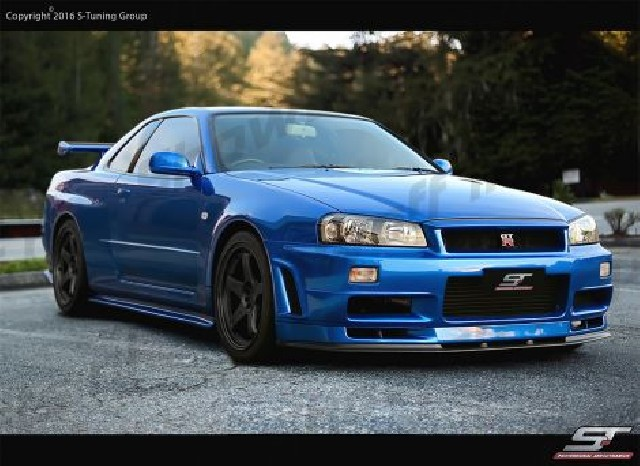 Nissan Skyline R34 GTT Z-Tune N1 Wide Body Kit 14-Piece