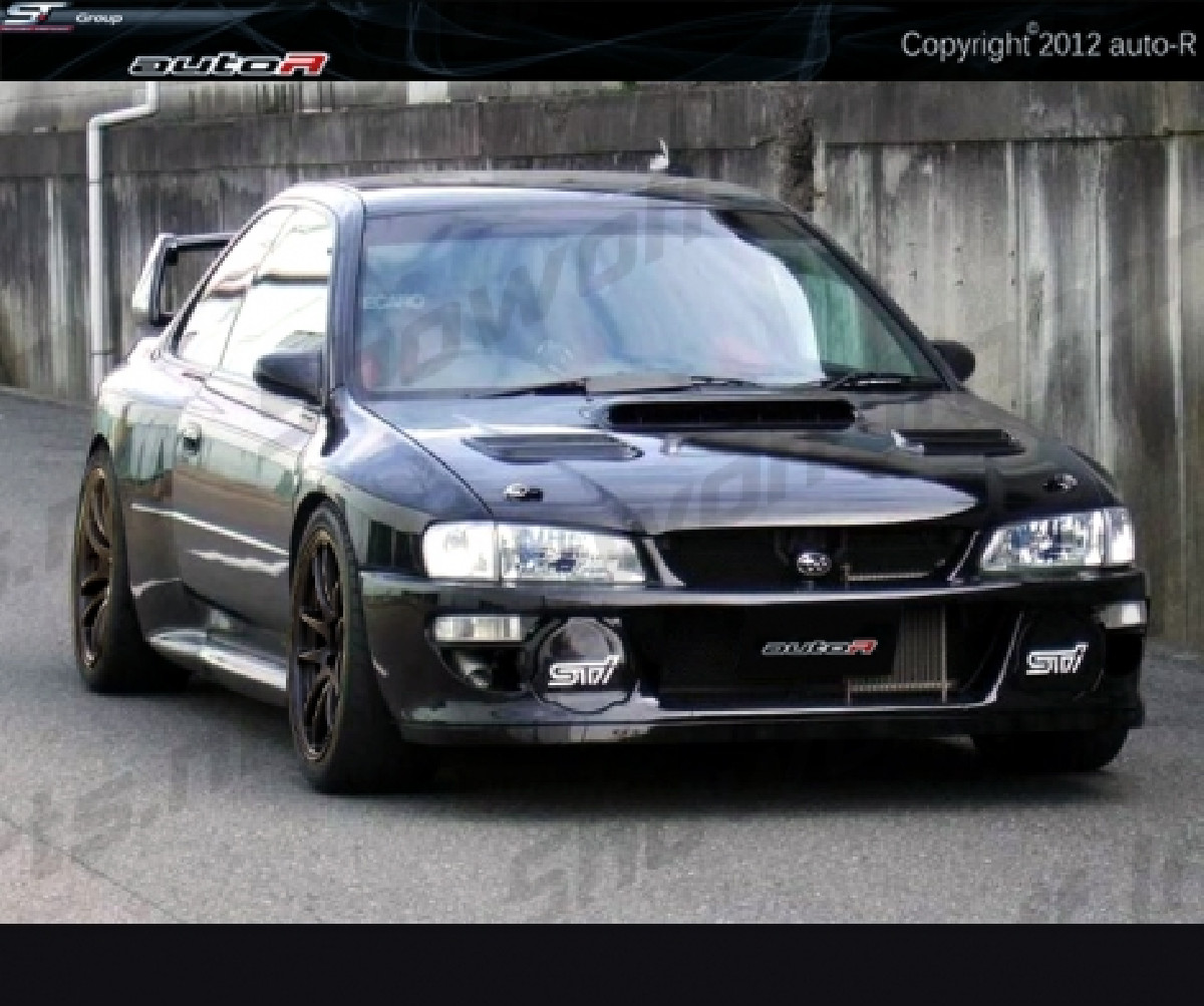 Impreza 92-00 GC8 coupe B22 WRC look Wide Body
