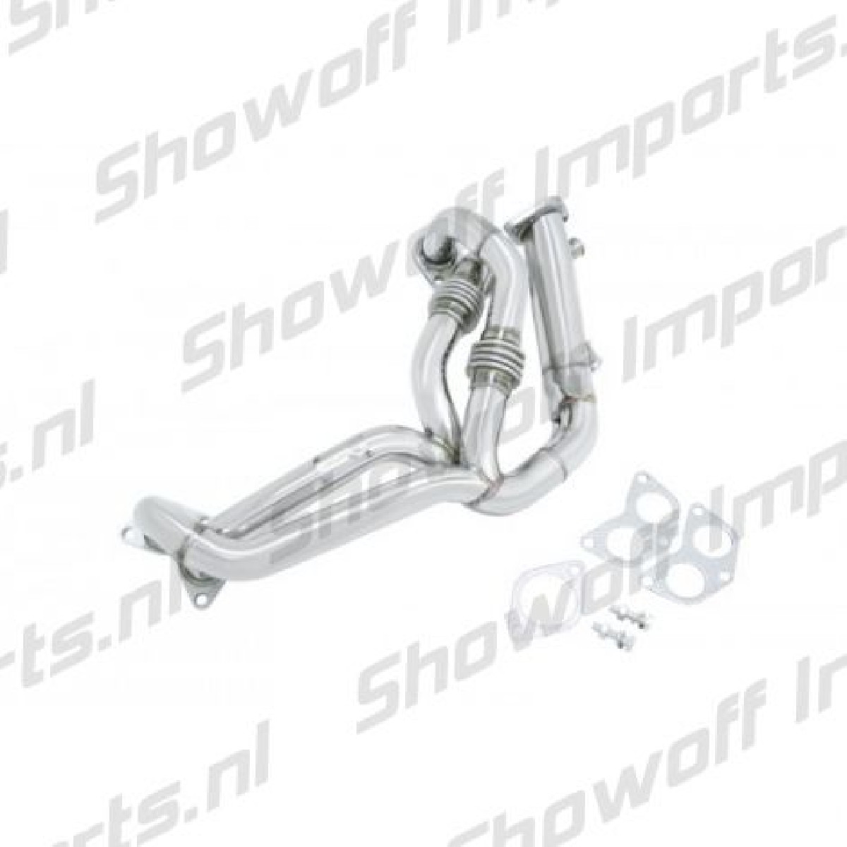 Subaru BRZ Manzo Stainless Steel Header De-Cat