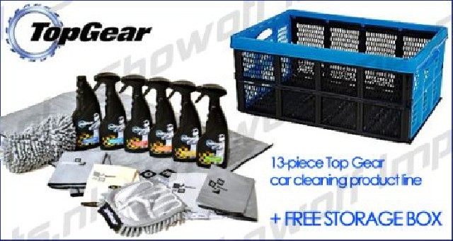 Top Gear Ultimate Car Care Crate (14-piece)