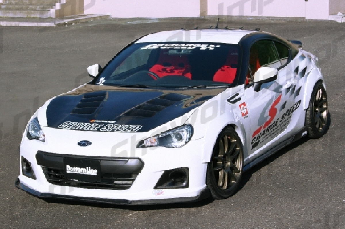 Toyota GT86 BottomLine 2 Side Skirts (FRP)