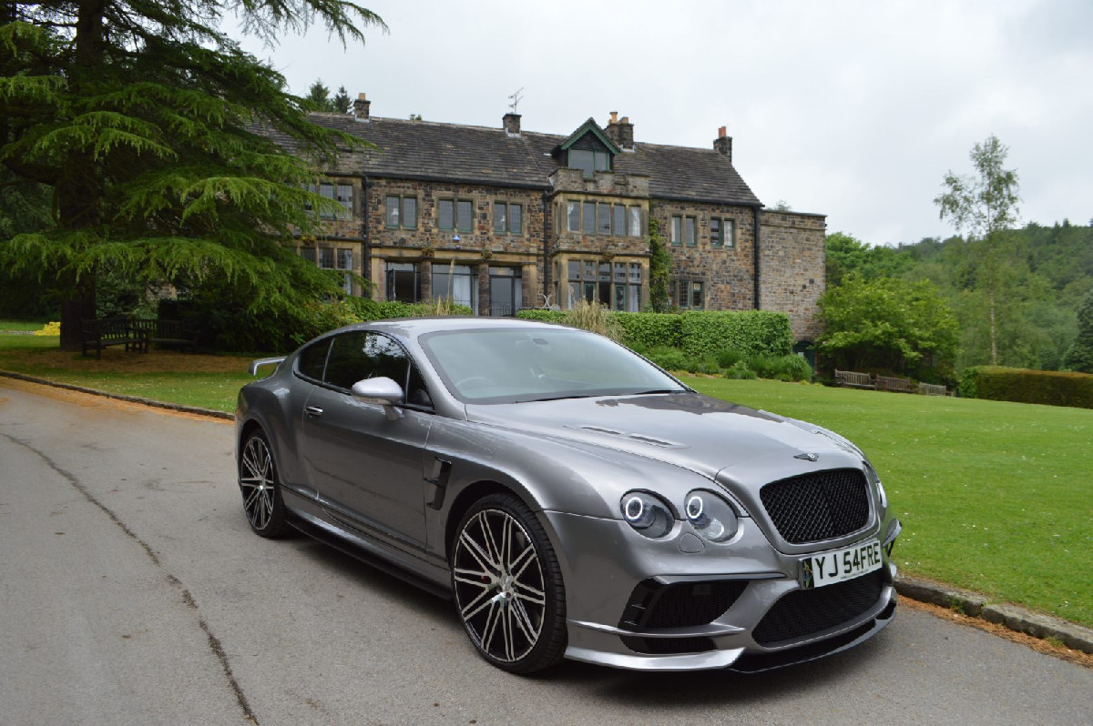 Bentley Continental GT/GTC Breitbau Body Kit 03-13