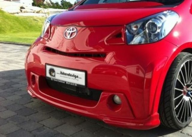 Frontlippe Toyota iQ ab 08 PARTY