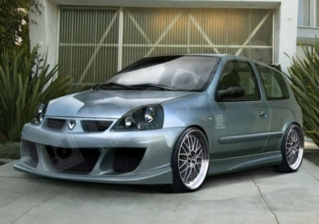 Renault Clio 2 Phase 2 3/5T (01-06) Bodykit MOHAVE