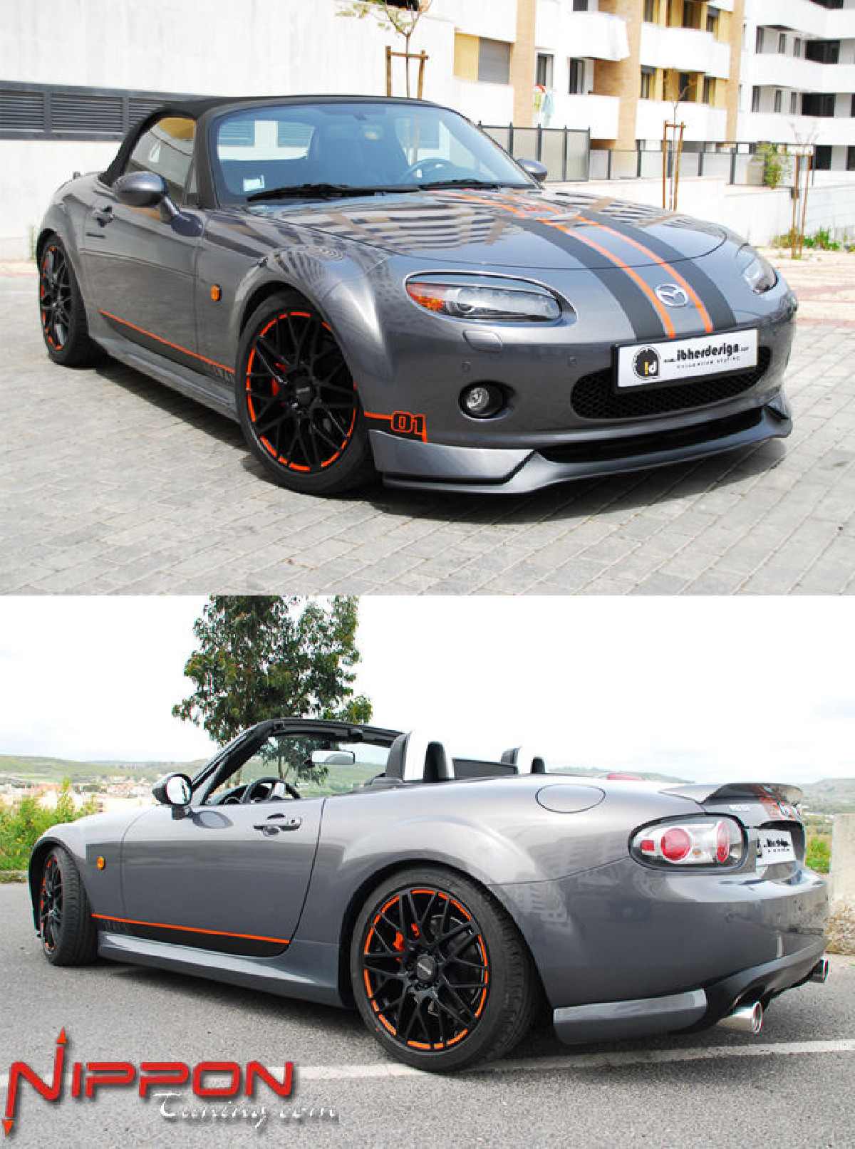 Bodykit Mazda MX5 NC (06-08) CALIFORNIA