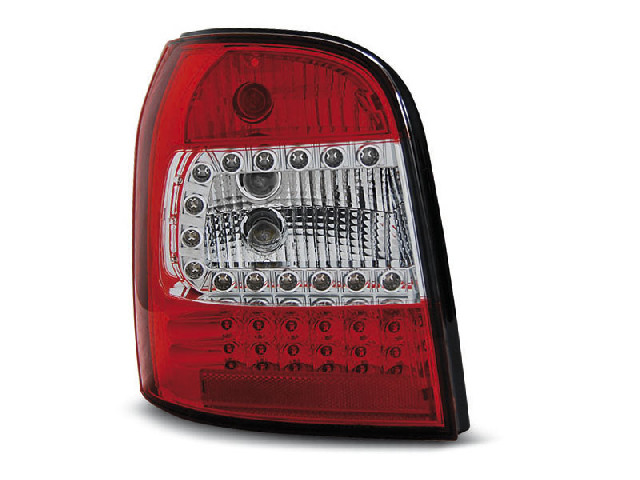 LED TAIL LIGHTS RED WHITE fits AUDI A4 94-01 AVANT
