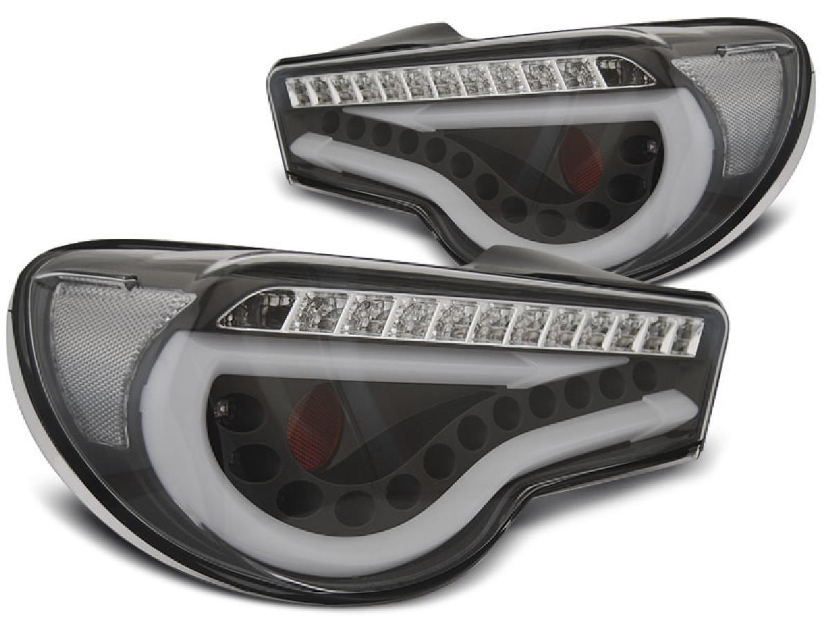 TOYOTA GT86 12-16 LED BAR BLACK SEQ
