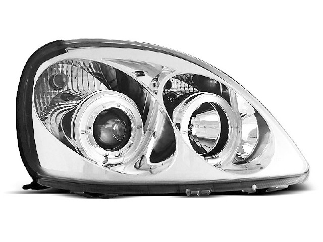 TOYOTA YARIS 04.99-09.03 ANGEL EYES CHROME