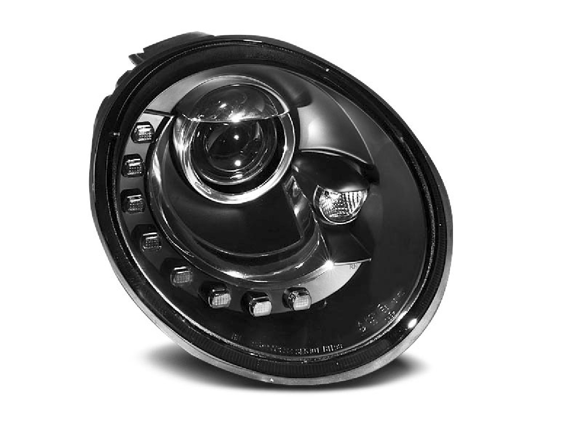 VW NEW BEETLE Scheinwerfer 10.98-05.05 LED BLACK