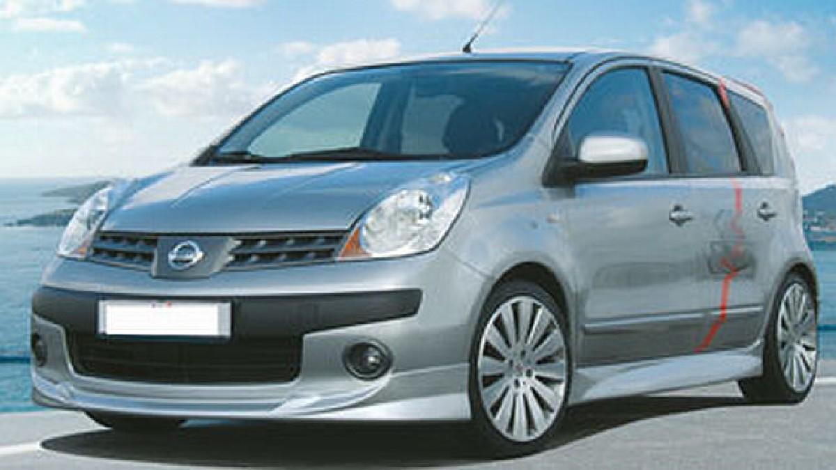 Frontlippe Nissan Note