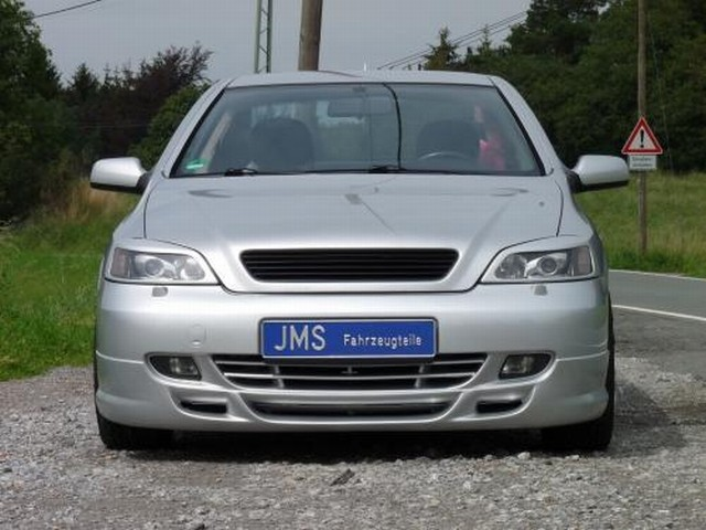 JMS Racelook Frontlippe Opel Astra G Coupe / Cabrio