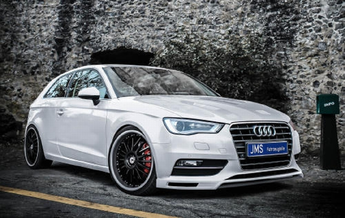 exclusiv Line Frontlippe Audi A3 8V 3+5-trg ohne S-Line