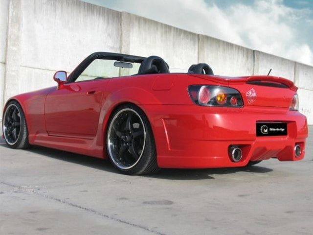 Rear Wheel Arches Honda S2000 TAIPAN