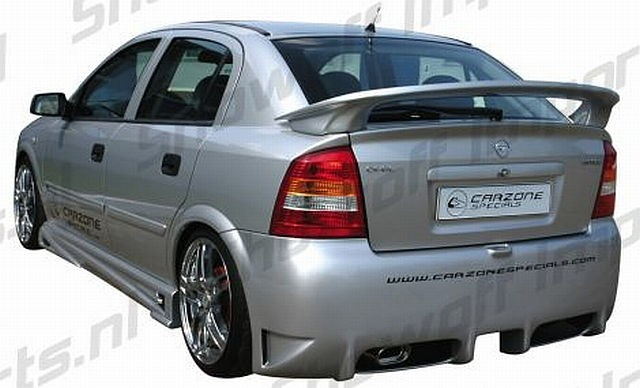 Eclipse Heckstoßstange Opel Astra G Coupe/Limo Bj. 98+