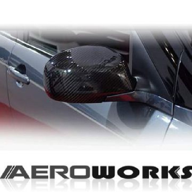 Suzuki Swift 07+ (facelift) Aeroworks Carbon Mirror Covers