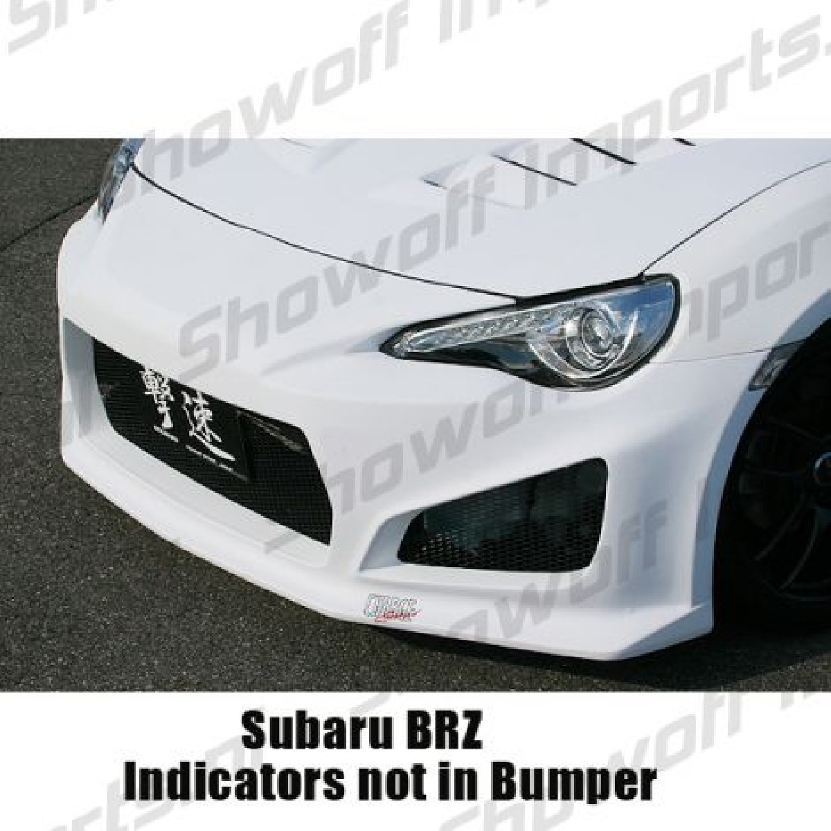Subaru BRZ Chargespeed JDM Front Bumper