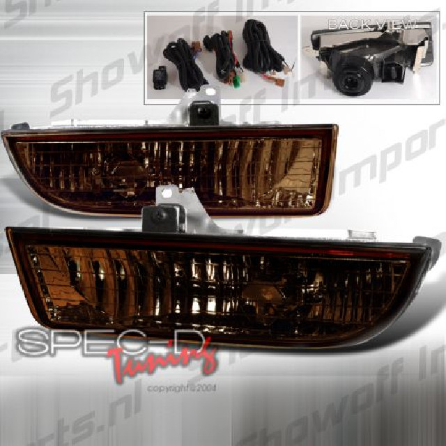 Honda Prelude 97-01 Smoke JDM Fog Light Set