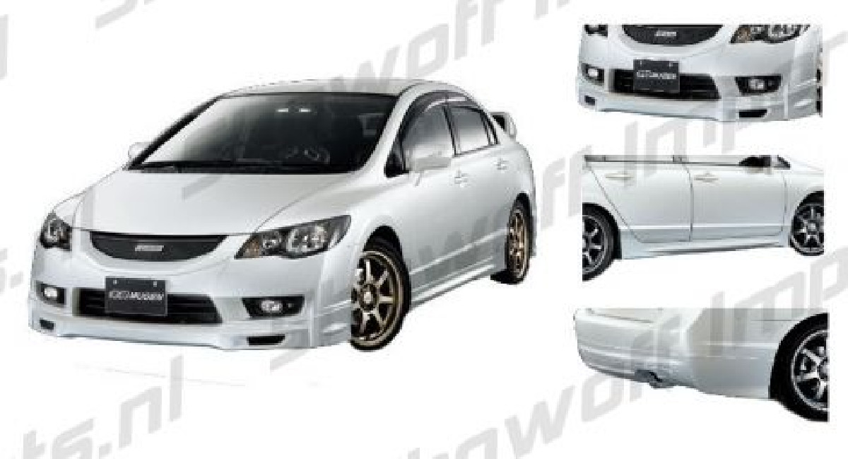 Honda Civic 4D/Hybrid 09+  ABS Bodykit SIX
