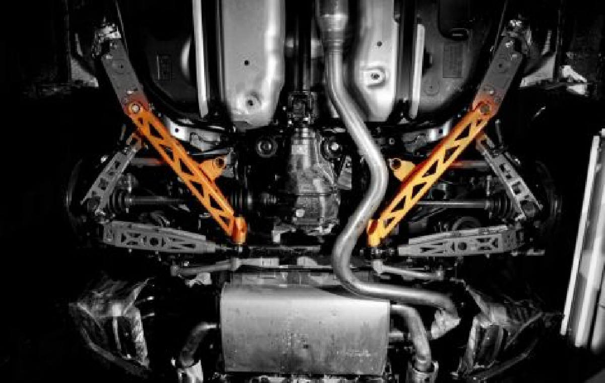 Subaru BRZ Summit Rear Lower T Brace