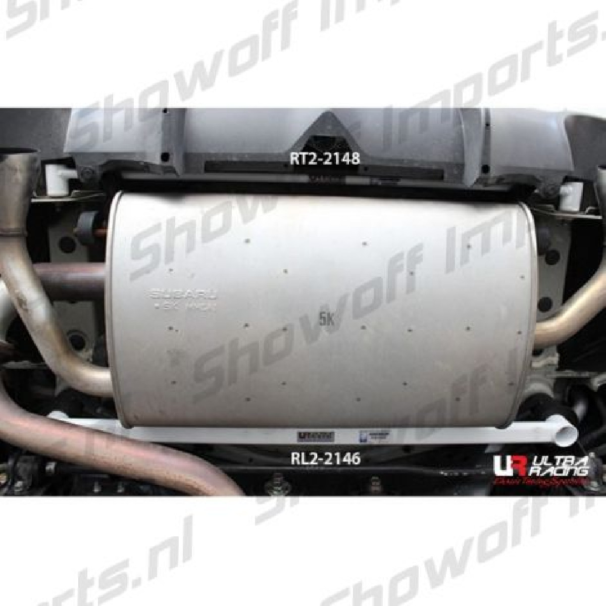 Subaru BRZ  Ultra-R 2P Rear Torsion Bar 2148