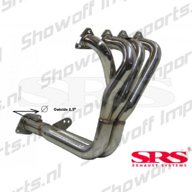 Honda Civic/CRX 88-91 B16A1 SRS 4-2-1 Stainless Steel Header