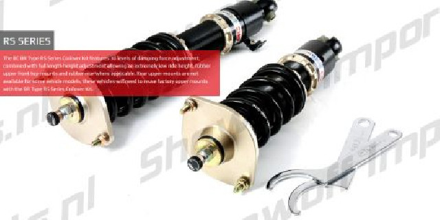 Mazda MX5 Roadster 15+ ND BC-Racing Coilover Kit BR-RS