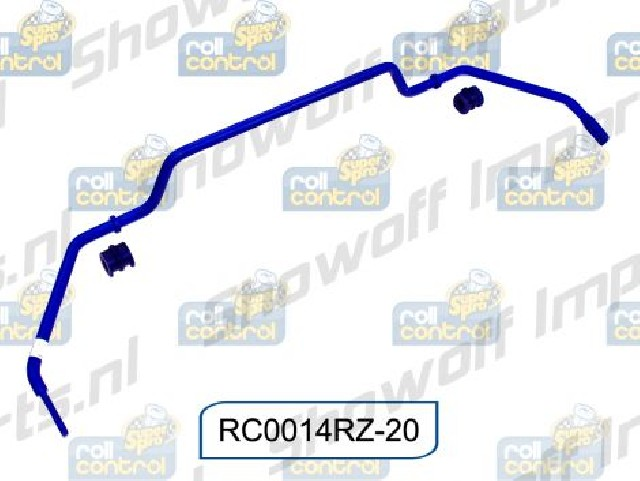 SuperPro 20mm Blade Adjustable Sway Bar RC0014RZ-20 for Nissan R35 Coupe 07