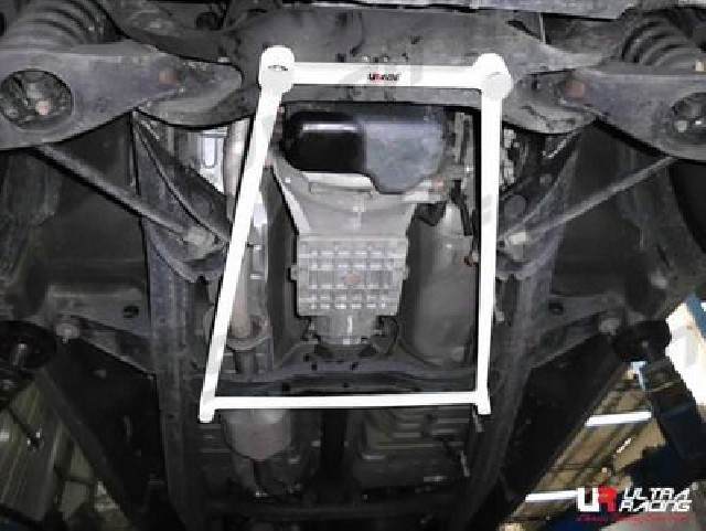 Mitsubishi L200 06-15 Ultra-R 4-Point Rear Lower Brace