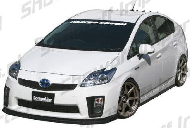 Toyota Prius Hybrid 09+ Chargespeed Bottomline Front Lip FRP