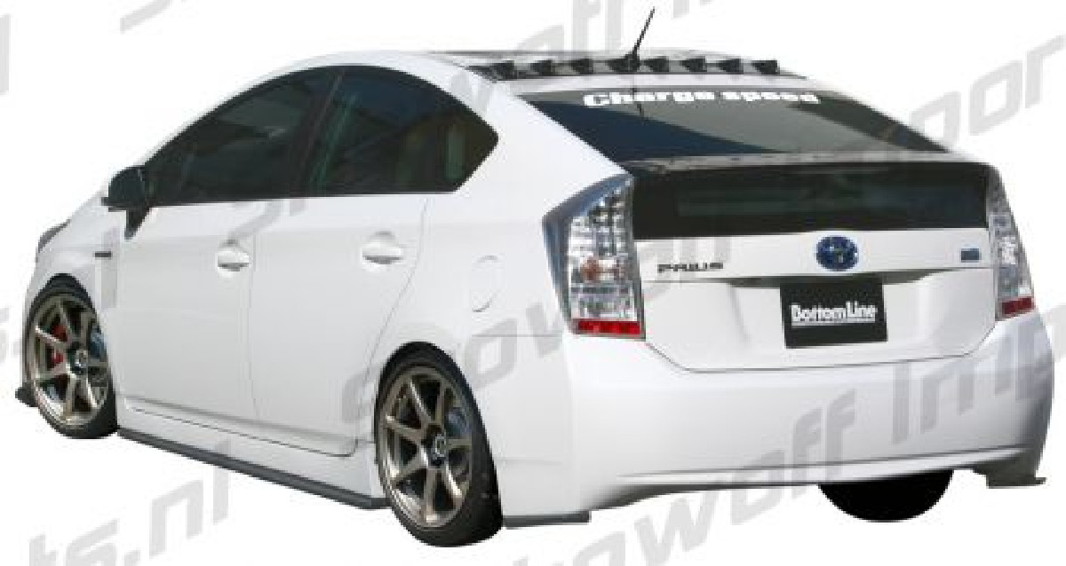 Toyota Prius 3 Hybrid 09+ Chargespeed Bottomline Rear Addons