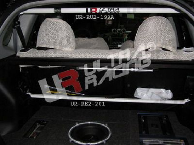 Honda Jazz/Fit 01-08 / 08+ UltraRacing 2-Point C-Pillar Bar