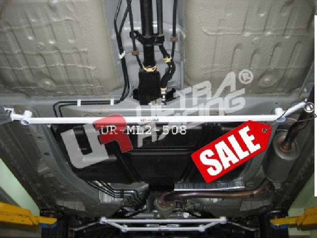 Honda Jazz/Fit 08+ UltraRacing Mid Lower Strutbar/Brace