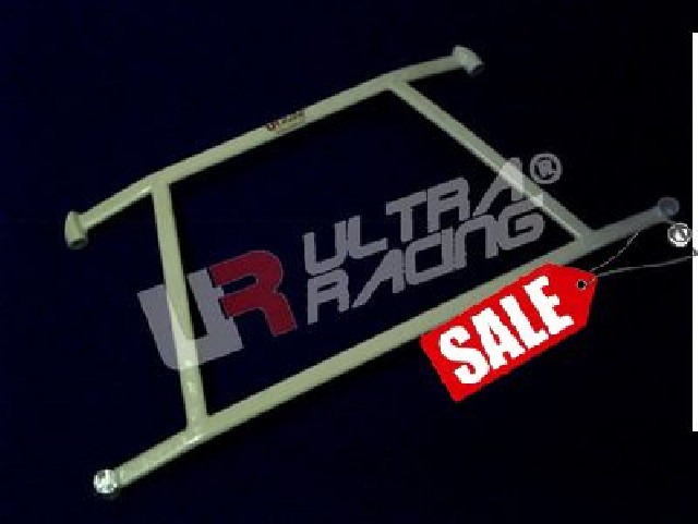 Honda Jazz/Fit 01-08 UltraRacing 4-Point Front Lower Brace