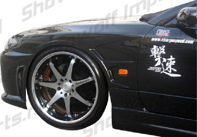 Nissan S15 Chargespeed Front Fenders + Intake