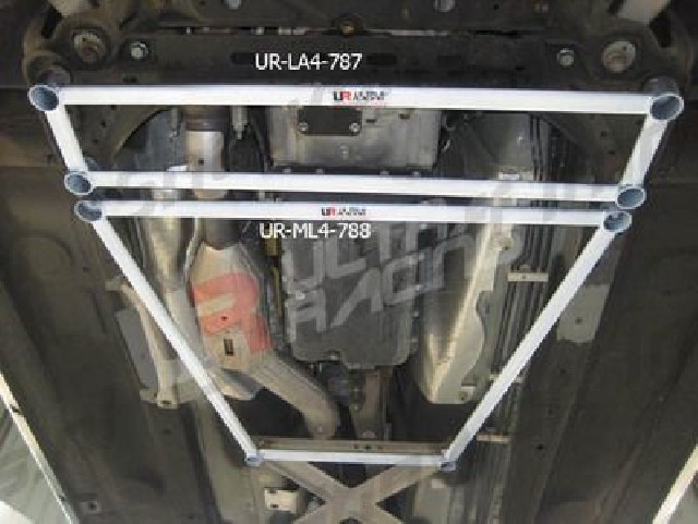 Mazda MX5 NC 06+ UltraRacing 4-Point Mid Lower H-Brace