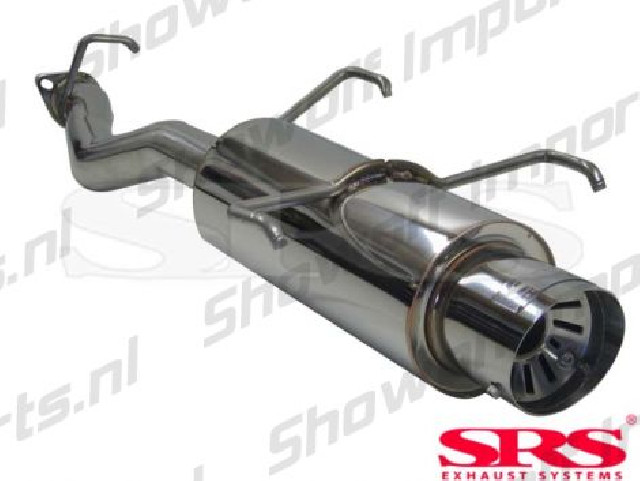 Honda Prelude 92-96 SRS Stainless Steel G55 Exhaust