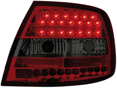 LED Rückleuchten Audi A4 B5 Lim. 95-10.00 red/smoke