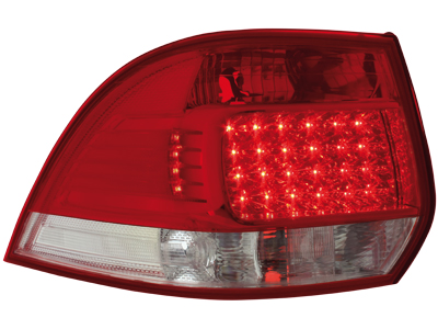 LED Rückleuchten VW Golf V/VI Variant 03.07+ red/crystal