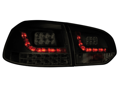 LED Rückleuchten VW Golf VI MIT LED Blinker black/smoke